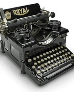 Royal 1914 Number 10 Typewriter - Royal Consumer Information Products