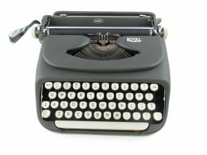 Royal McBee Typewriter - Royal Consumer Information Products